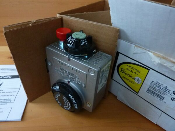 ROBERTSHAW R110RTSP Natural Gas Thermostat Valve for Water Heater New in box C $85.00