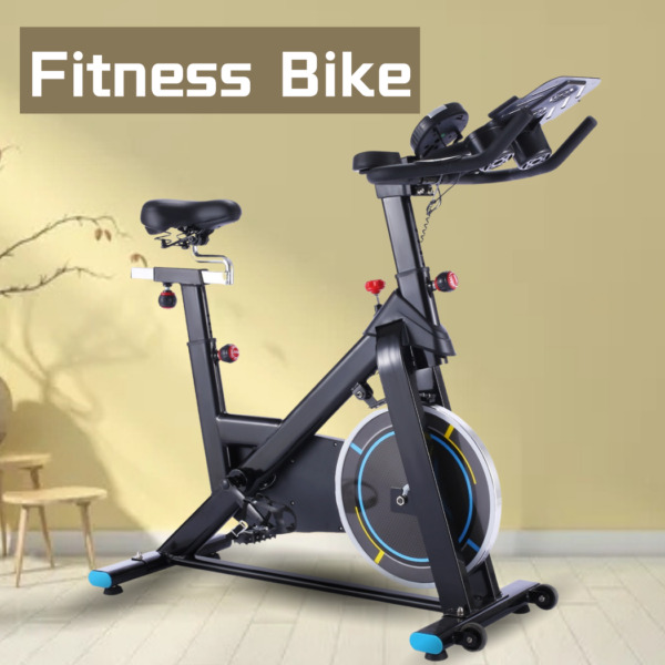Cycling Bike Indoor Stationary Exercise Bike 49 LBS Flywheel LCD Monitor Silent $319.99