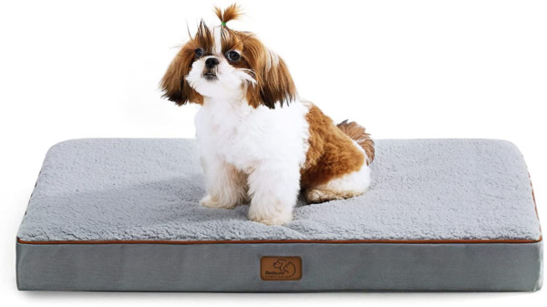 Bedsure Medium Dog Bed for Medium Dogs Up to 50lbs Orthopedic Dog Beds with $39.51