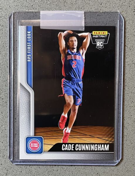 2021 22 Panini Instant #1 Cade Cunningham RC RPS First Look Pistons 🔥IN HAND🔥 $14.99