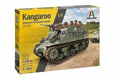 Italeri 6551s Kangaroo Armored Personnel Carrier 1 35 Scale $42.99