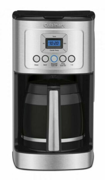 Cuisinart 14 Cup Programmable Coffee Maker Stainless Steel DCC 3200