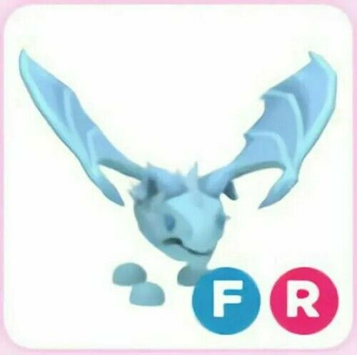 Fly Ride FR Frost Dragon Pet For Roblox Adopt Me FAST DELIVERY $22.85