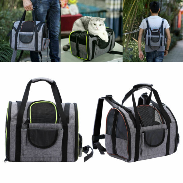 Foldable Dog Cat Carrier Package Travel Transport Pet Puppy Bag Package $42.73
