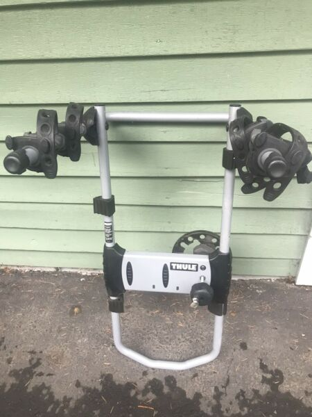 THULE 963XT SPARE ME 2 BICYCLE RACK SPARE TIRE MOUNT COMPLETE W LOCK amp; KEY NI $129.99