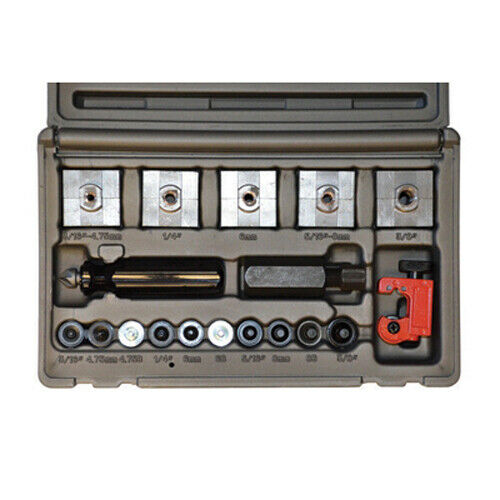 Cal Van Master In Line Double amp; Bubble Flaring Tool Set w Tube Cutter 165 $54.99