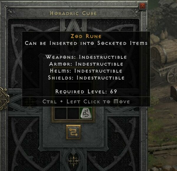 D2R Diablo 2 Resurrected Zod Rune PC ONLY SOFTCORE $38.79