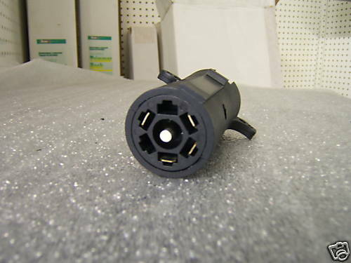 7 to 4 PIN VEHICLE ADAPTER RV STYLE GM DODGE FORD TOYOTA
