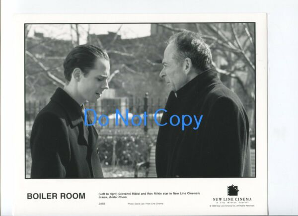 Giovanni Ribisi Ron Rifkin Boiler Room Original Glossy Movie Press Still Photo