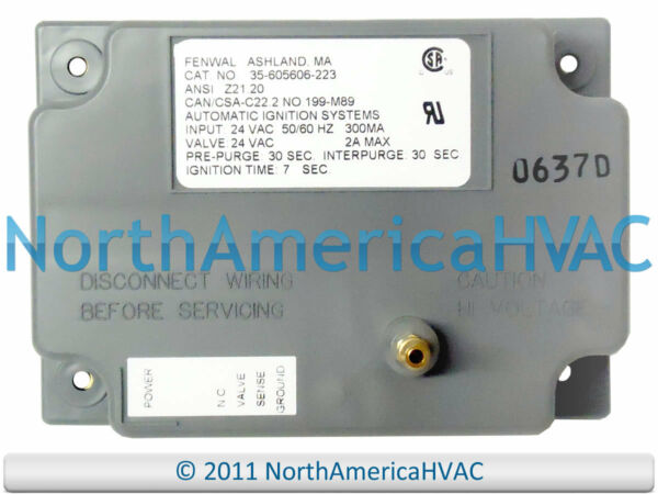 Fenwal Gas Furnace Control Circuit Board 35-605606-111