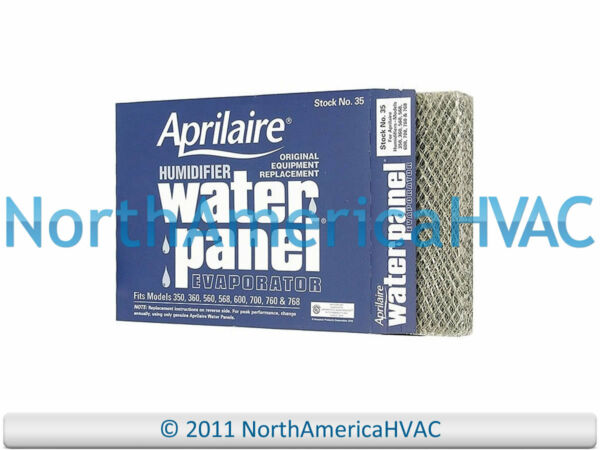 10x OEM #35 35 Aprilaire Furnace Humidifier Water Panel Filter Pad 350 360