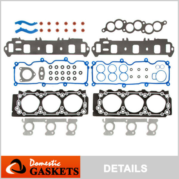 01-07 Ford Taurus Mercury Sable 3.0L Vulcan OHV Head Gasket Set VIN U Flex 2