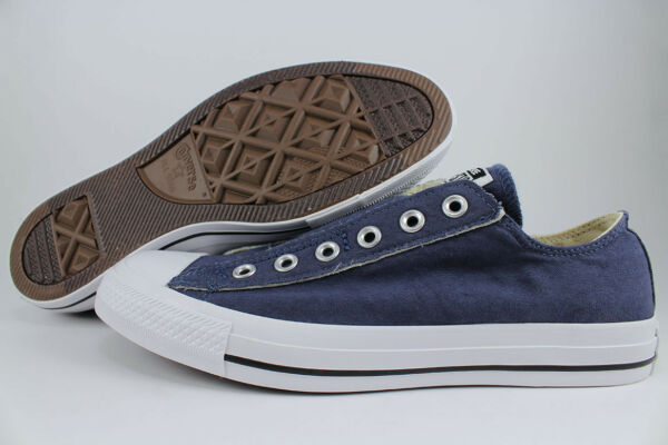 CONVERSE ALL STAR SLIP-ON OX LOW CHUCK TAYLOR NAVY BLUE FADE/WHITE US MENS SIZES