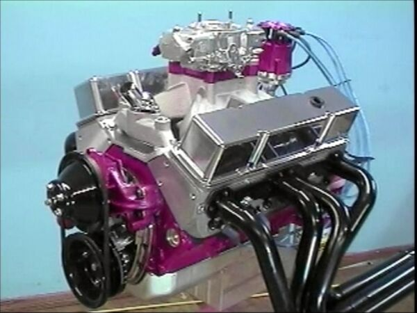 Step by Step Build of a 600 Horse 383 Chevy Small Block On A Budget - 7 Hr DVD