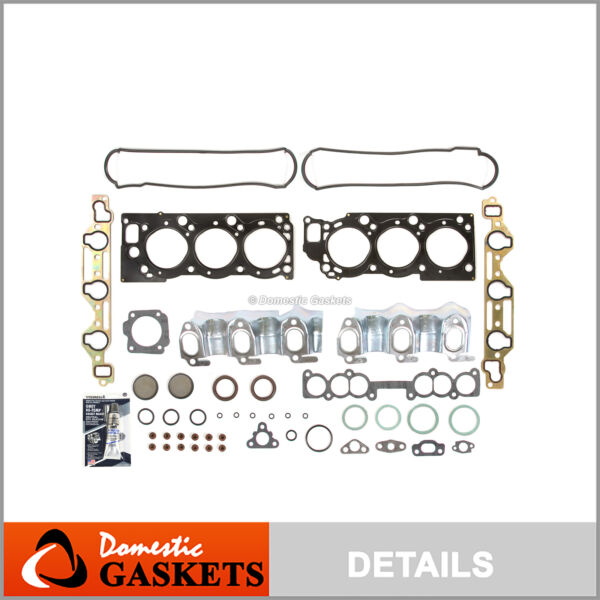 Fits 88-95 Toyota Pickup T100 4Runner V6 3.0L MLS Head Gasket Kit 3VZE