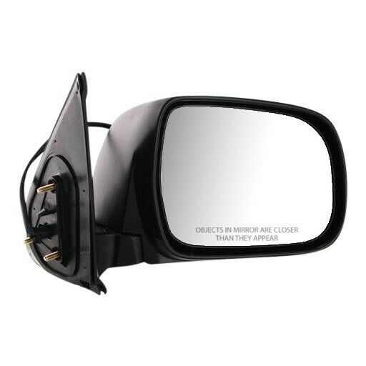Power Mirror For 2005-2011 Toyota Tacoma Passenger Side Textured Black