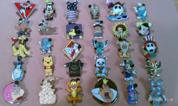 Disney Trading Pins Lot of 25 No Duplicates LE HM Rack Cast Free Shipping