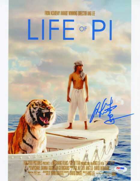 Ang Lee SIGNED 11x14 Photo Director Producer Life of Pi PSADNA AUTOGRAPHED