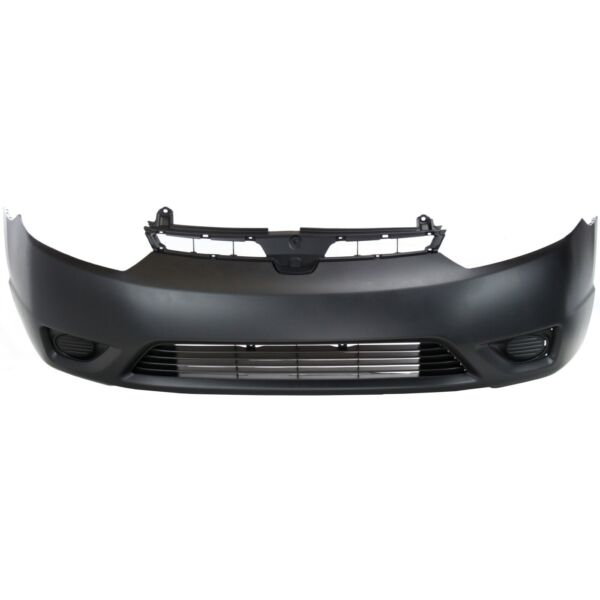 Front Bumper Cover For 2006 2007 2008 Honda Civic Coupe Primed 04711SVAA90ZZ