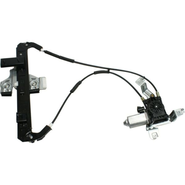 Power Window Regulator For 2000-2006 Chevy Tahoe Rear Left with Motor