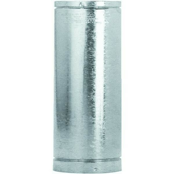Type L Insulated Pellet Stove Pipe 3quot; X 12quot; Galvanized W Stainles Liner 3VP 12 $34.99