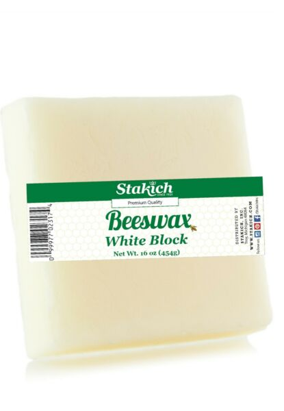 10 1lb Pure White Beeswax Blocks Bee Wax 100% Natural Organically Produced New