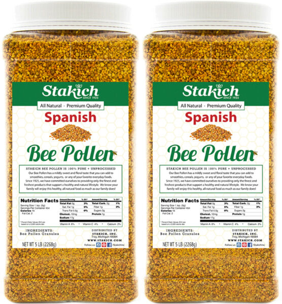 10 lb SPANISH BEE POLLEN 100% Natural Pure Raw Granules Organically Produced