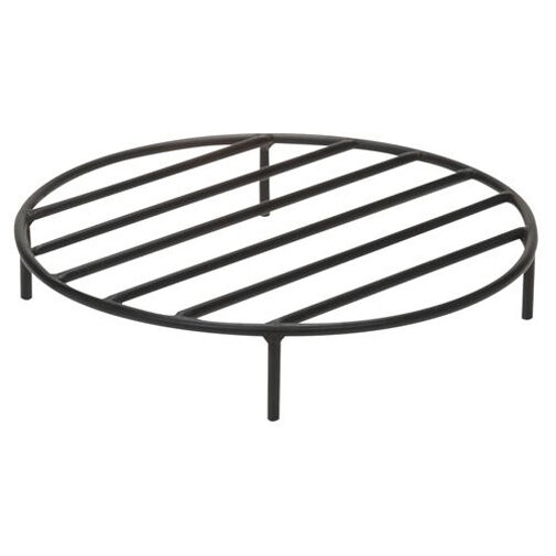 Round Elevated Outdoor Fire Pit Grate 1 2quot; Steel Construction
