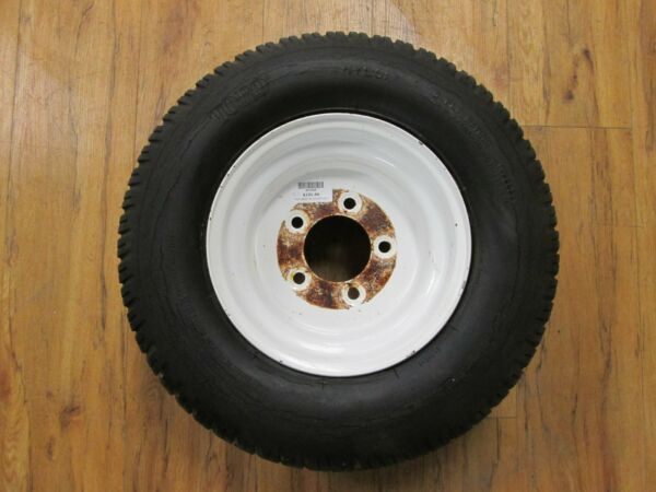 TORO 3000D 30301 GROUNDMASTER FRONT LAWNMOWER FRONT RIM amp; TIRE PART #: 93 5548