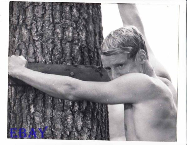 John Heyl barechested VINTAGE Photo A Separate Peace