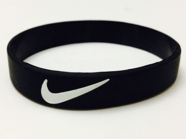 Nike Sports baller silicone wristband blk/wht logo Buy 3 get 2 Free or Buy 2 get