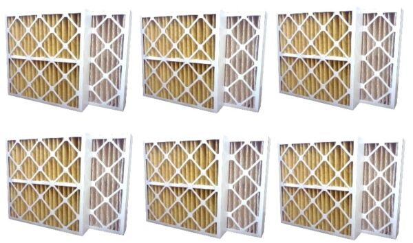 6 Pack High Quality Genuine MERV 11 Home Air Pleated Furnace Filters 16x20x4 $69.55