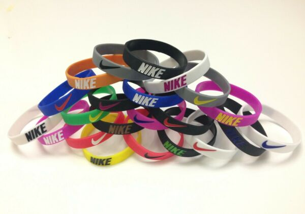 Nike Sport Baller Band Silicone Rubber Bracelet Wristband Buy 3 get 2 Free or Bu