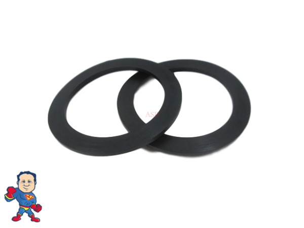 2X Hot Tub Spa 2quot; Heater or Pump Union Gasket Balboa Gecko ACC Video How To