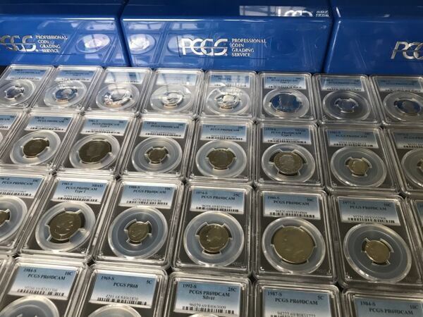 ✯ ESTATE SALE! ✯ PCGS Slabbed GRADED U.S. Proof Coin Hoard ✯ 1 SLAB LOT + BONUS