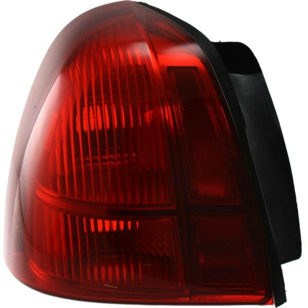 Halogen Tail Light For 2003-2011 Lincoln Town Car Left Red Lens