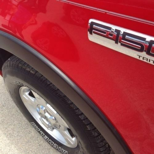 FENDER FLARES FACTORY OE STYLE for 2004-2008 FORD F150 PICK UP - 4PCS / NO-DRILL