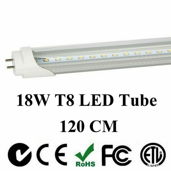 4-1000 Pack G13 LED 18w 4ft Foot 48 Inch T8 Fluorescent Tube Lights 6000K, 4000K