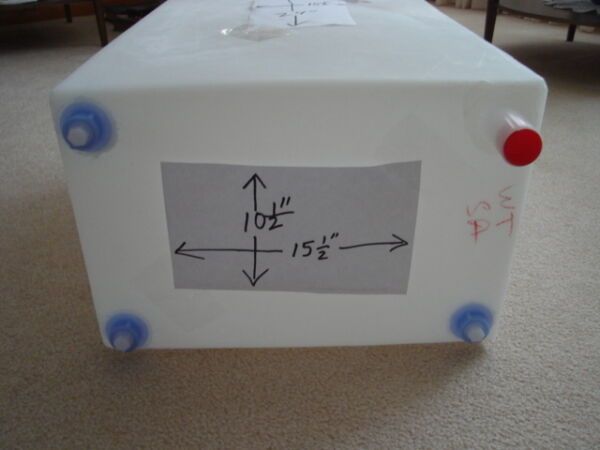 RV camper trailer 16 GALLON FRESH WATER TANK NEW FDA approved free shipping $60.99