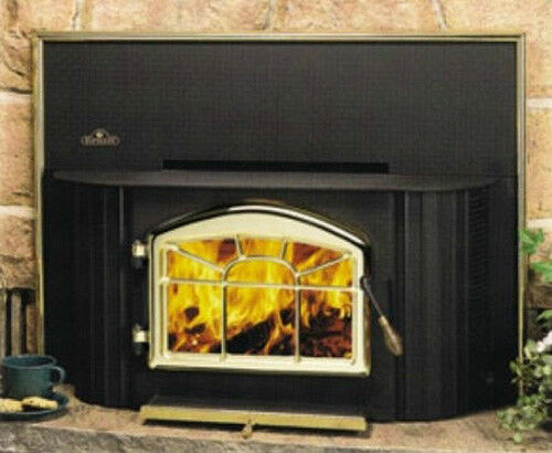 Napoleon EPI-1402M Wood Fireplace Insert with Surround and  Blower Included NIB
