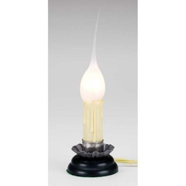Small Electric Country Candle Lamp Silicone Bulb w on off switch #6201 83 $7.99