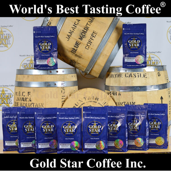 World's Best Tasting DARK ROAST Coffee - 10 lb Jamaica Jamaican Blue Mountain
