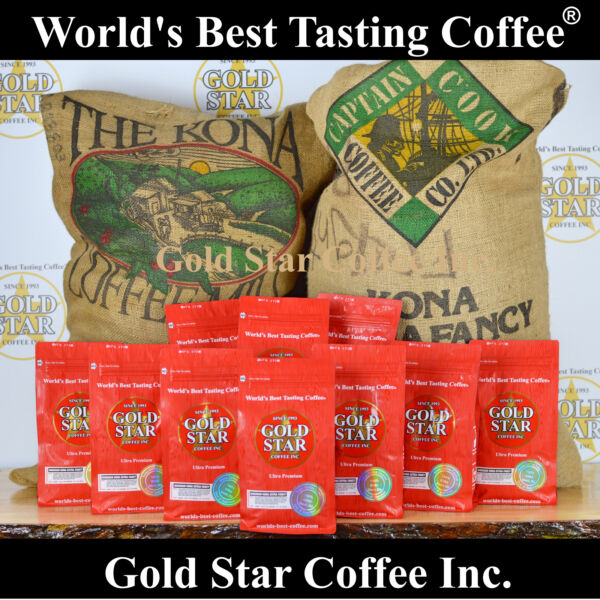 World's Best Tasting DARK ROAST Coffee - 10 lb Hawaiian Kona Fancy  French Roast