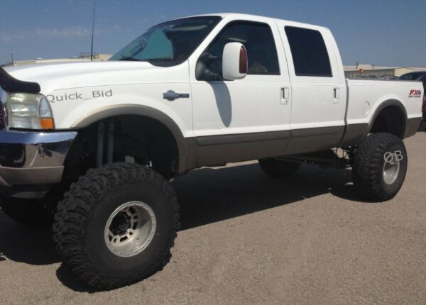 FENDER FLARES FOR 1999-2007 FORD F250 / F350 SUPER DUTY FACTORY STYLE - 4 PIECES
