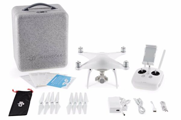DJI Phantom 4 Drone Quadcopter 4K Camera Obstacle Avoidance w/ Battery