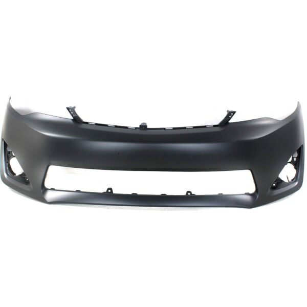 Primered Front Bumper Cover Fascia for 2012 2014 Toyota Camry XLE L E 12 14 $88.99