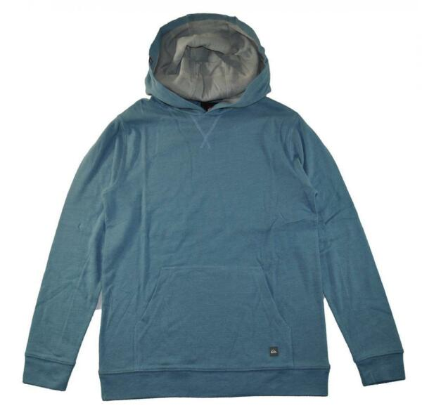 Quiksilver Big Boys Blue Pull Over Hoodie Size 12 (Medium)
