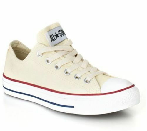New Women Adult Converse All Star OX NATURAL WHIT M9165 Sneakers 5.5,6,8.5,10.5.