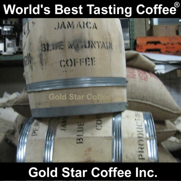 100% Jamaica Blue Mountain Coffee Green Beans 2 lb For Home Roasting