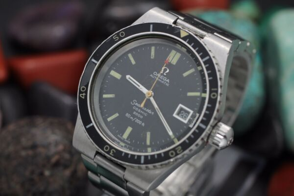 Vintage OMEGA Seamaster Cosmic 2000 Stainless Steel 60M Diver's Watch